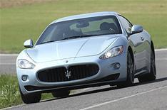 Maserati Granturismo S automatic driven