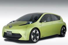 Toyota shows possible baby Prius