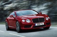 Detroit 2012: Bentley Continental V8