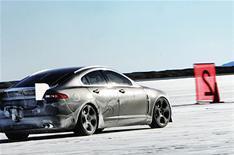Jaguar XFR sets speed record