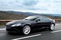 Bond's Aston in real-life drama