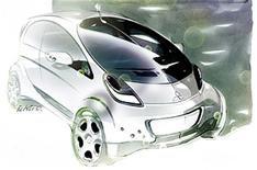 First image: Mitsubishi Prototype iMiEV