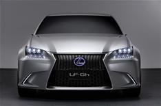 Revealed: all-new Lexus GS concept