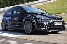 New Ford Focus RS revealed