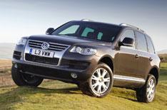 VW launches Touareg Bluemotion