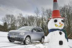 Snow chaos causes 4x4 clamour