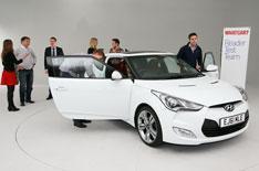 Hyundai Veloster Reader Test Team