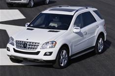 Mercedes revises M-Class - slightly
