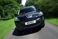 Sporty looks for Peugeot 4007