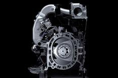How do the hydrogen Mazdas work?