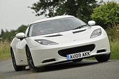 Lotus Evora 2+2 driven