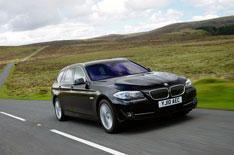 BMW 5 Series Touring driven