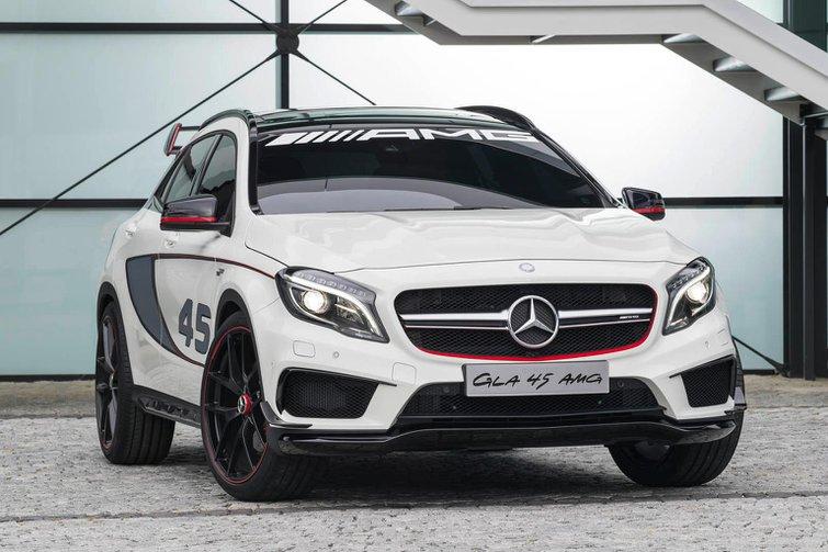 Mercedes GLA45 AMG revealed