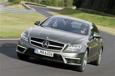 Mercedes-Benz CLS 63 AMG driven