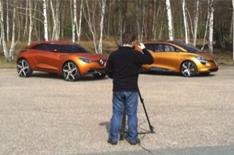 Renault Captur and R-Space video