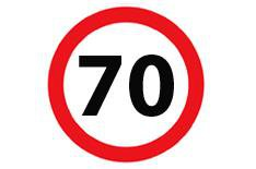 Speed limit to be raised to 80mph