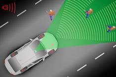 Volvo safety tech to see in the dark