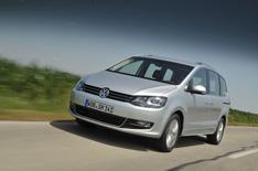 Volkswagen Sharan driven