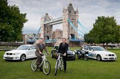 BMWs green Olympic fleet