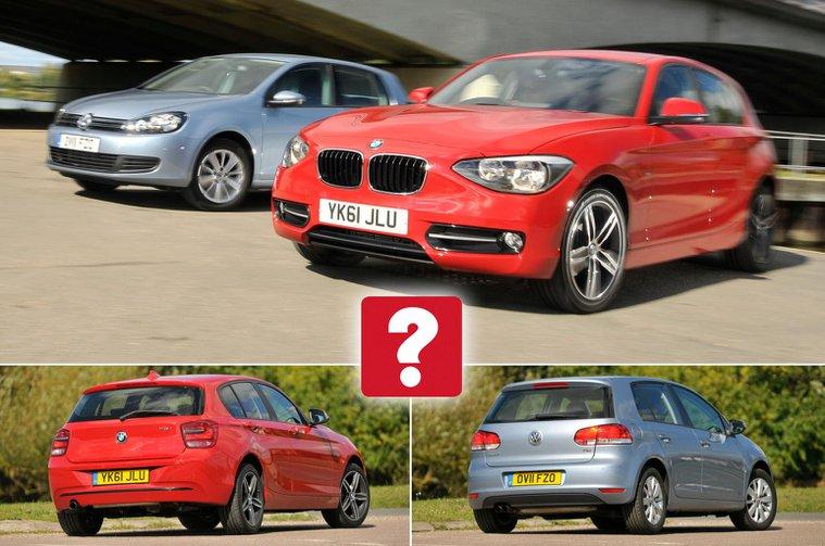 Used VW Golf vs BMW 1 Series