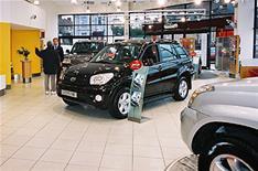 Car sales up despite end of scrappage