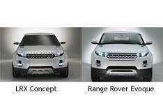 Range Rover Evoque concept to production