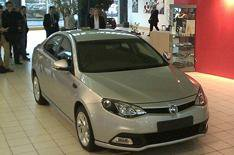 MG6 to go on sale in May