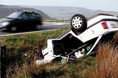 Euro road-safety target off course