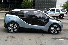 BMW i3 spotted in Chicago - video