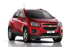 New Chevrolet Trax pictures and details