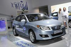 Frankfurt 2009: Hyundai Elantra Hybrid