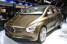 Frankfurt: Mercedes BlueZero E-Cell Plus