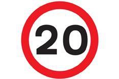Speeding in a 20mph zone
