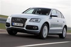 Audi Q5 Hybrid driven