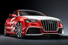 Audi reveals diesel A3 concept car