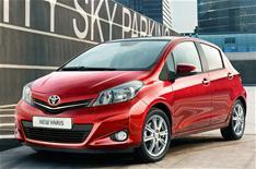 Toyota Yaris unveiled