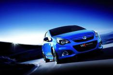 Blue-hot new Vauxhall Corsa VXR