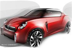 Beijing 2012: MG Icon SUV concept