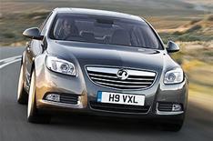 Vauxhall Insignia at British Motor Show
