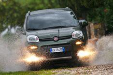 2012 Fiat Panda 4x4 and Trekking review