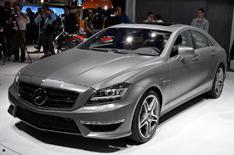 Mercedes-Benz at the LA show