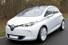 Renault Zoe on video