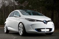 Renault Zoe driven