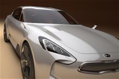 Kia unveils sporty concept car