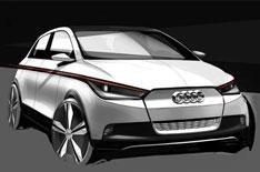 Audi A2 concept car unveiled