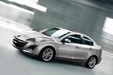 Official pictures: Mazda 3 saloon