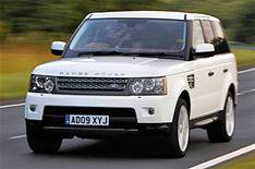 Range Rover Sport for lottery winner