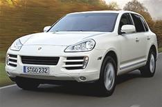 Porsche reveals first diesel