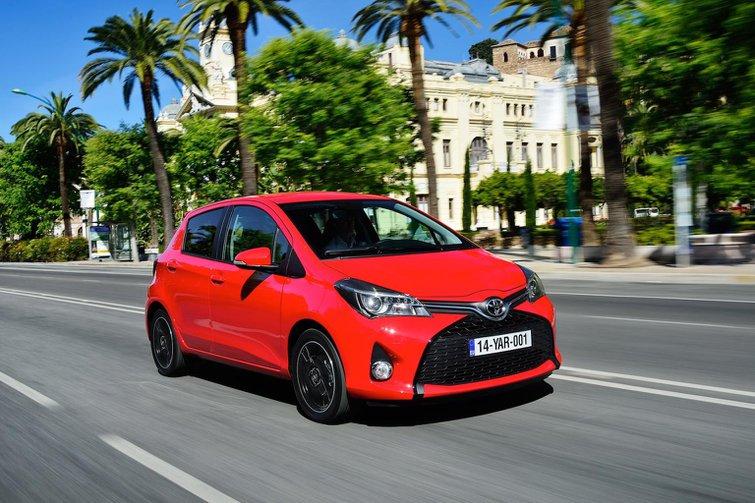 2014 Toyota Yaris review