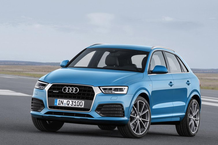 2015 Audi Q3 and RS Q3 revamp revealed